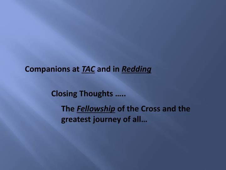 Companions at