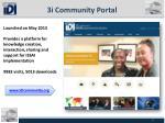 3i community portal