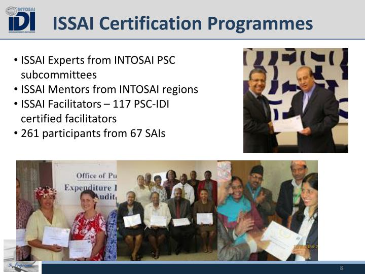 ISSAI Certification