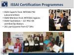 issai certification programmes