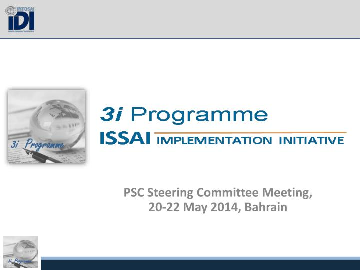 Psc steering committee meeting 20 22 may 2014 bahrain
