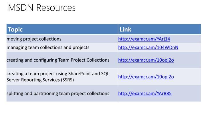 MSDN Resources