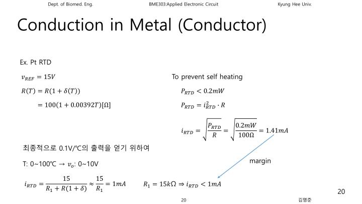 Conduction in Metal (Conductor)