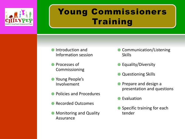 Young Commissioners Training