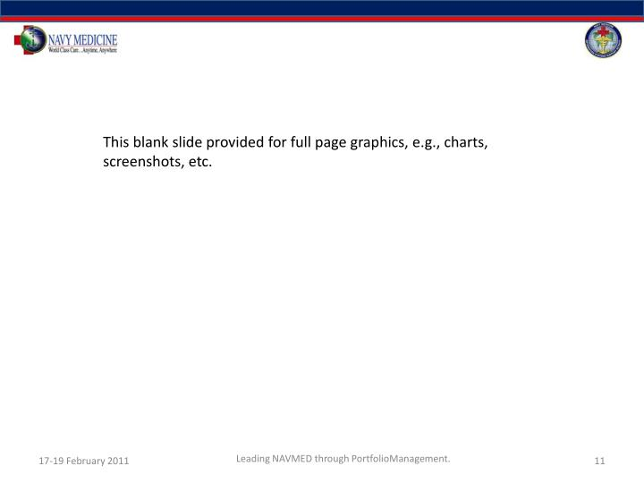 This blank slide provided for full page graphics, e.g., charts, screenshots, etc.