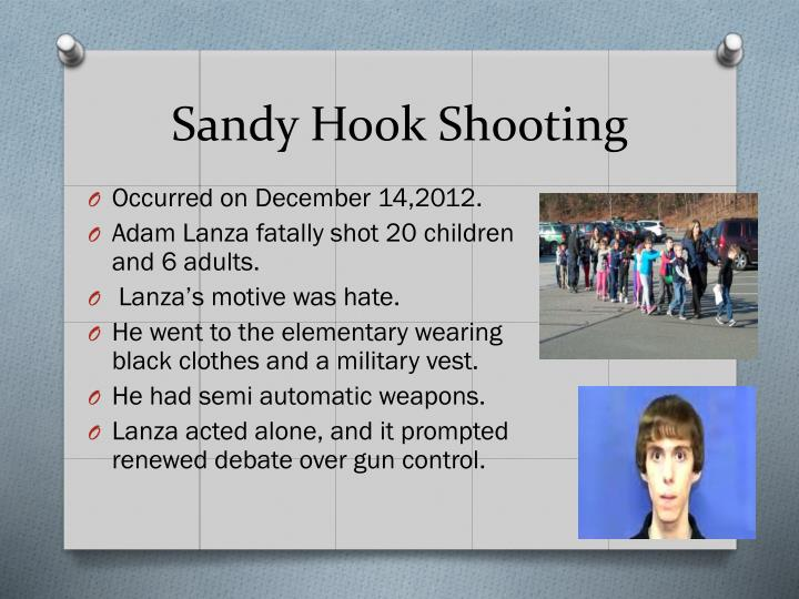 Sandy Hook Shooting
