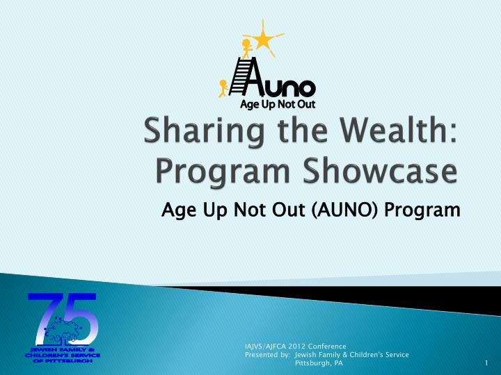 sharing the wealth program showcase