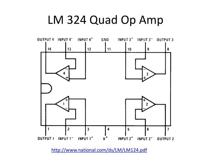 LM 324 Quad Op Amp