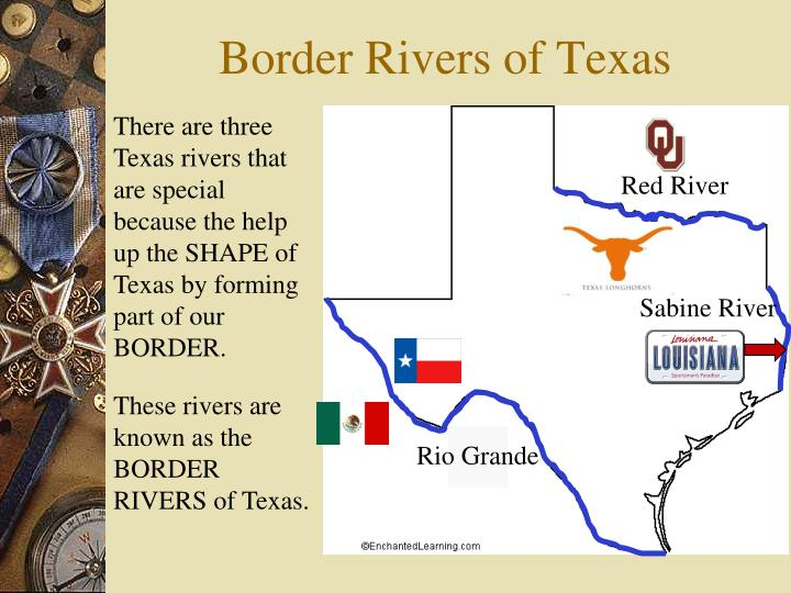 Border Rivers of Texas