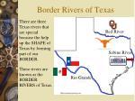 border rivers of texas
