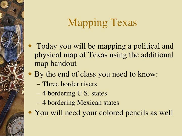 Mapping Texas