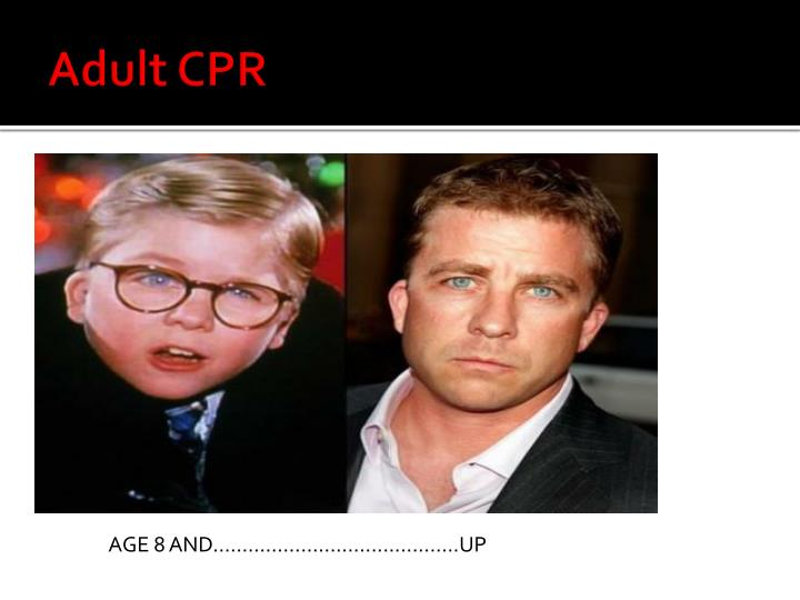 Adult CPR