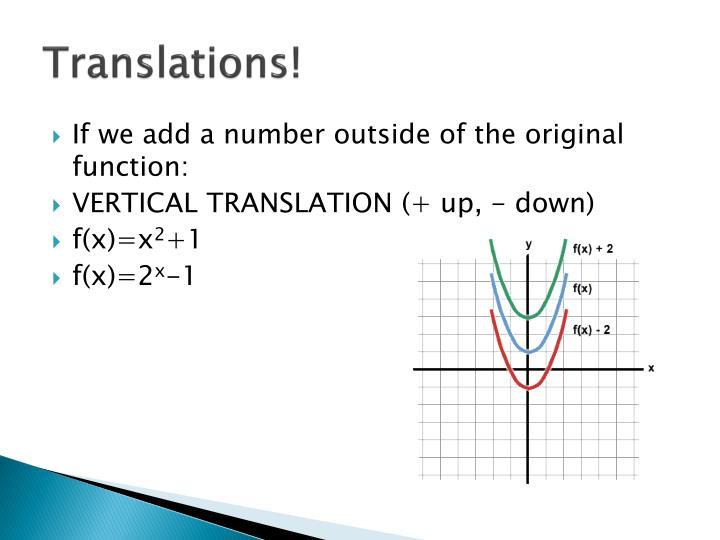 Translations!