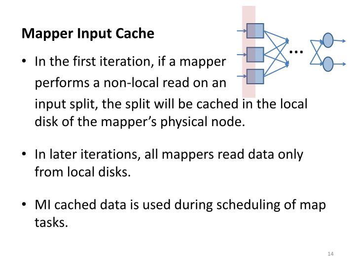 Mapper Input Cache