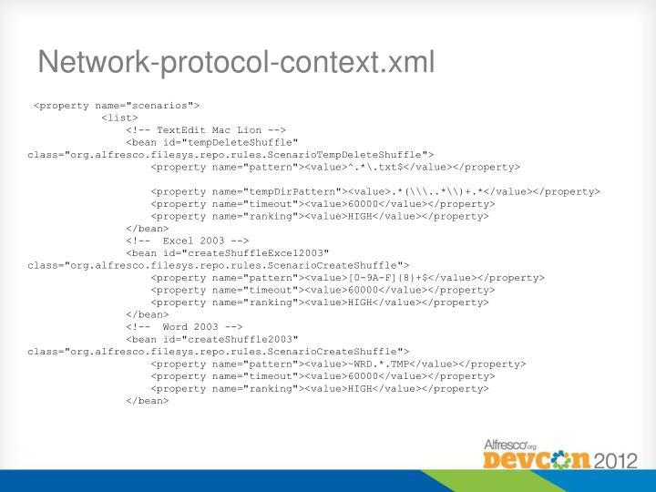 Network-protocol-context.xml