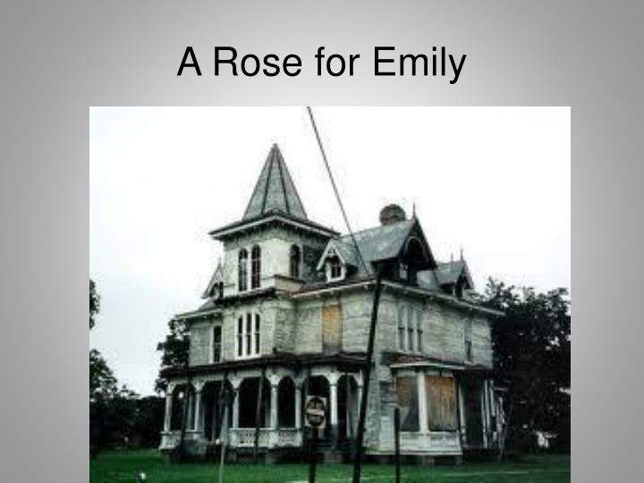 gothic elements in the setting of a rose for emily