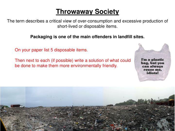 Throwaway Society