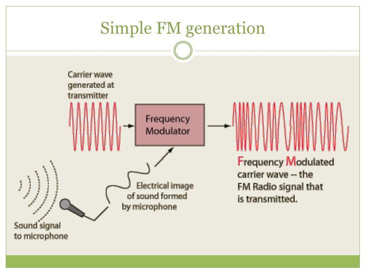 Simple FM generation