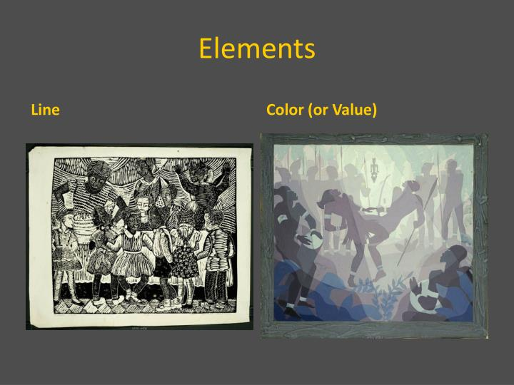 Elements And Organization Of Visual Arts : Ppt elements and principles of visual art powerpoint