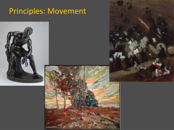 ppt elements and principles of visual art powerpoint