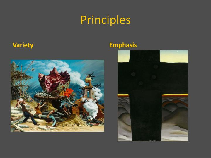 Principles Of Visual Arts : Ppt elements and principles of visual art powerpoint