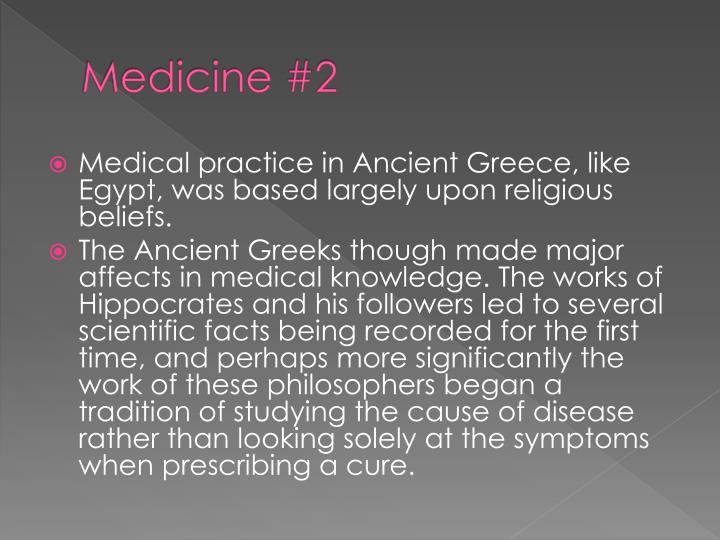 Medicine #2