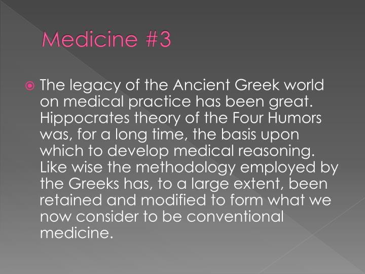 Medicine #3