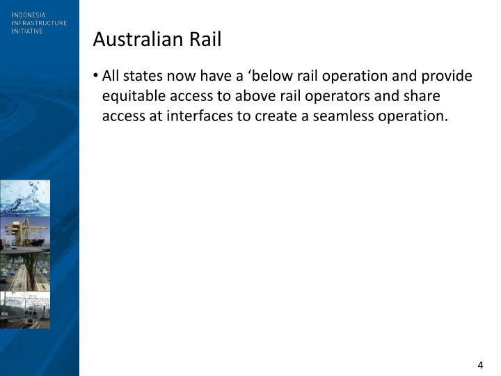 Australian Rail