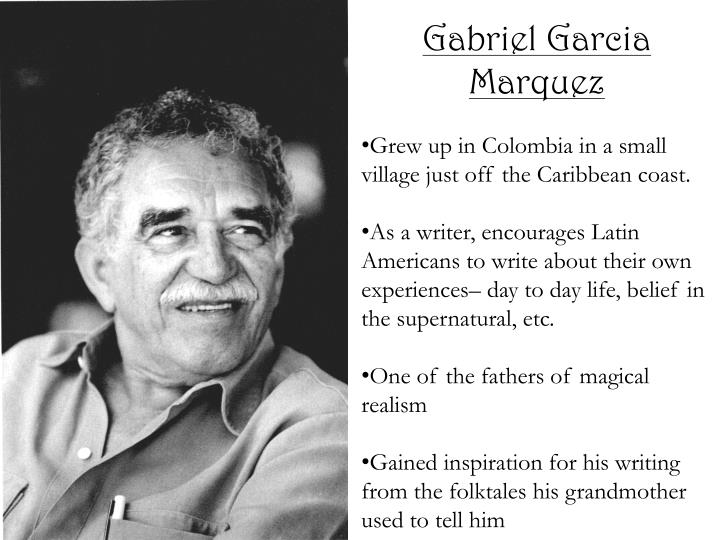 an analysis of the setting of gabriel garcia marquezs tuesday siesta Gabriel garcia marquez tuesday siesta characters characters theme narrative structure setting narrative structure - the town the family came from is poor.