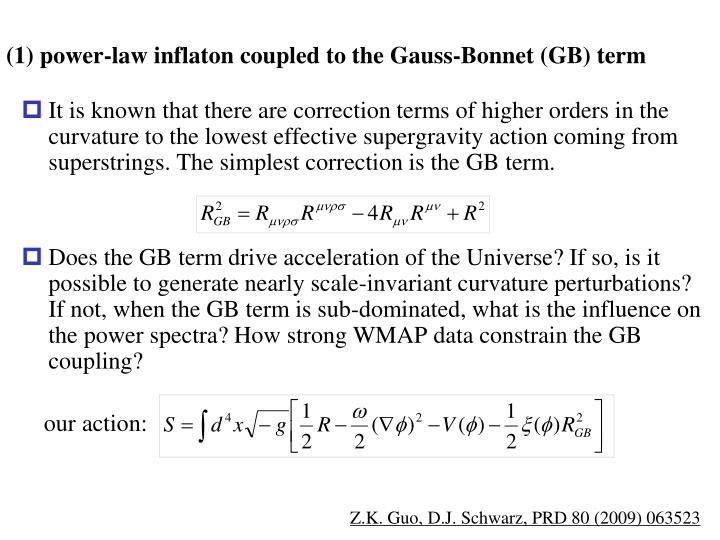 (1) power-law