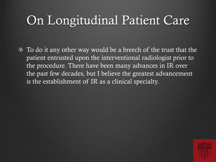On Longitudinal
