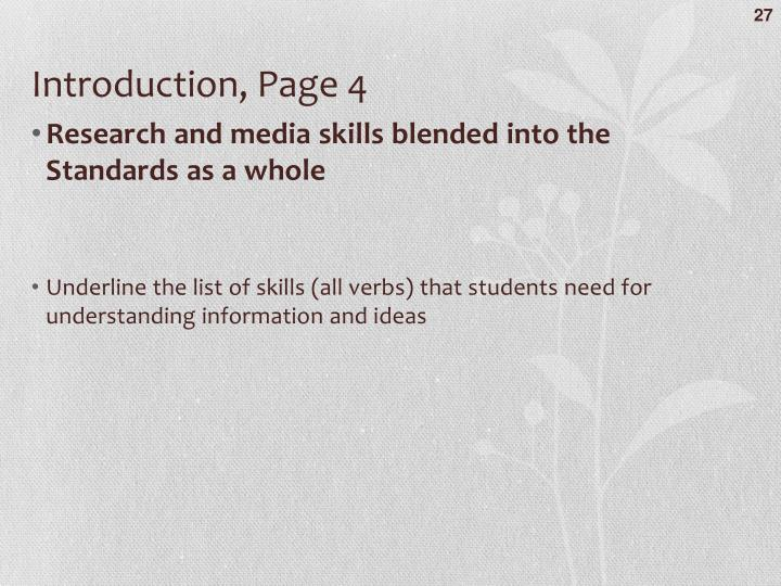 Introduction, Page 4