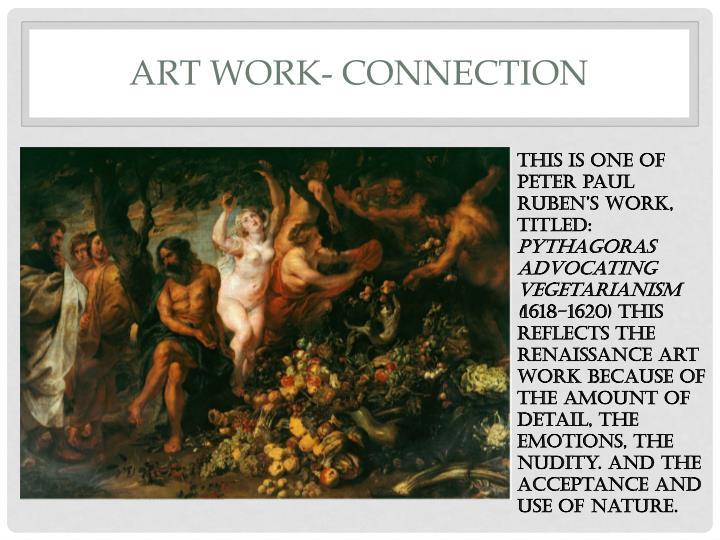 ART work- connection