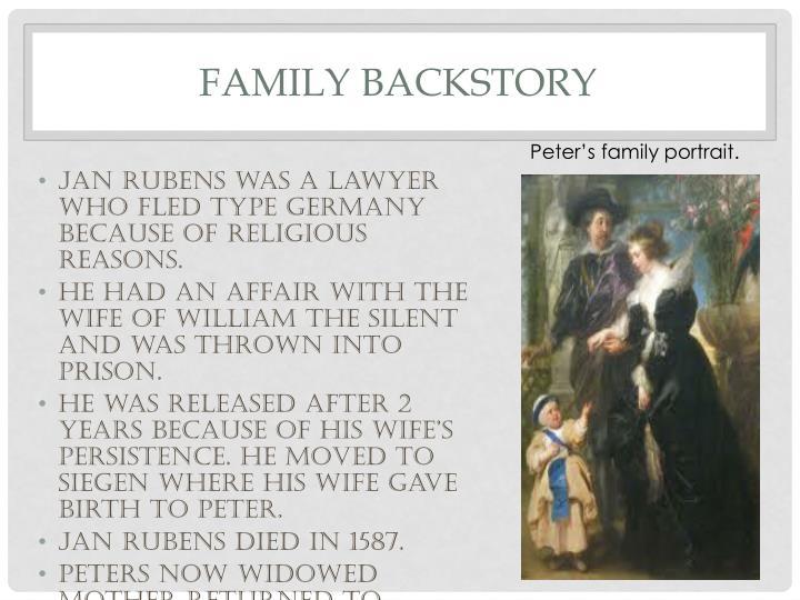 Family backstory