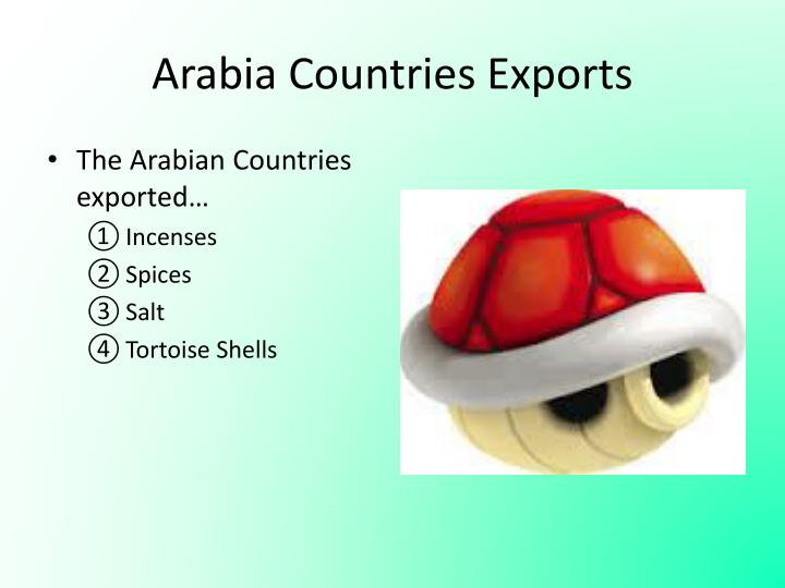 Arabia Countries Exports