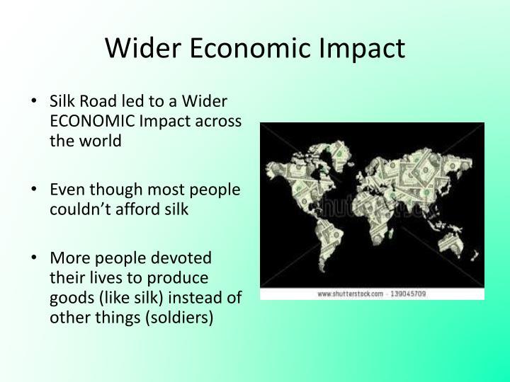 Wider Economic Impact