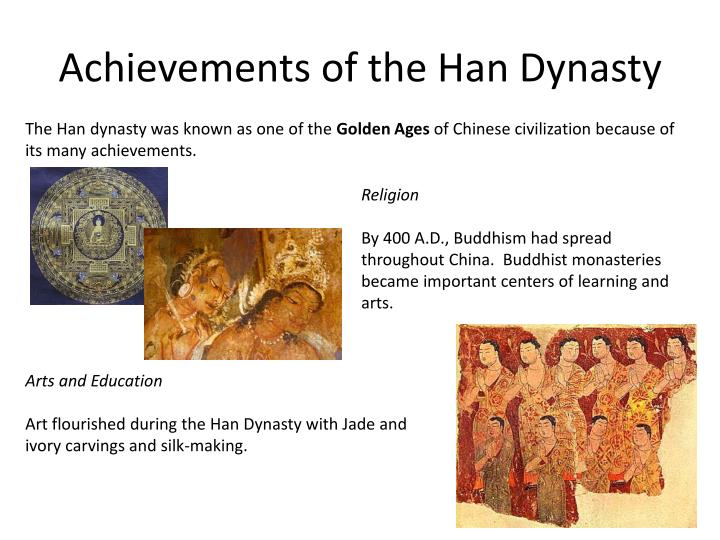 Achievements of the Han Dynasty
