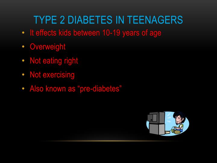 Type 2 Diabetes in Teenagers