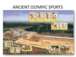ancient olympic sports
