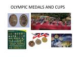 olympic medals and cups