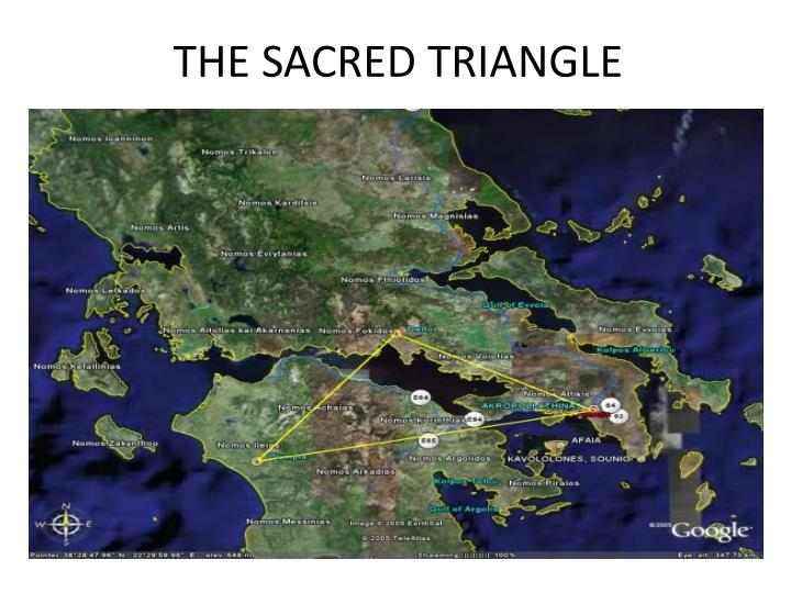 THE SACRED TRIANGLE