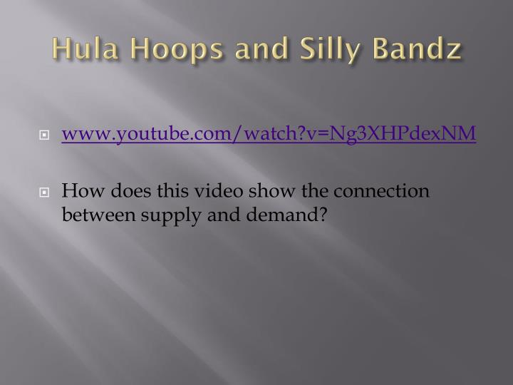 Hula Hoops and Silly