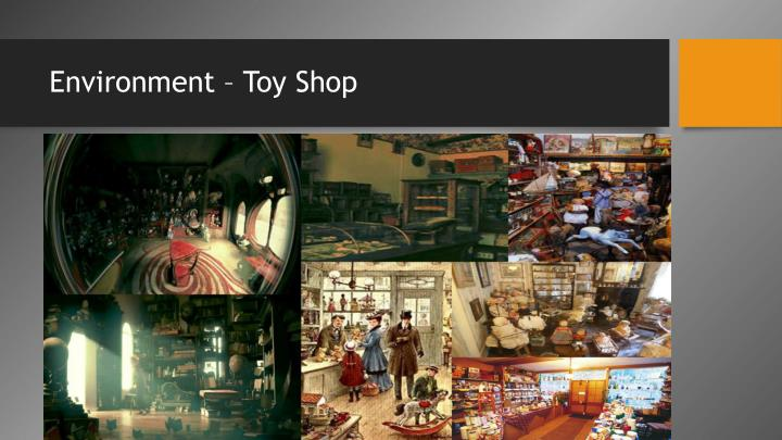 Environment – Toy Shop
