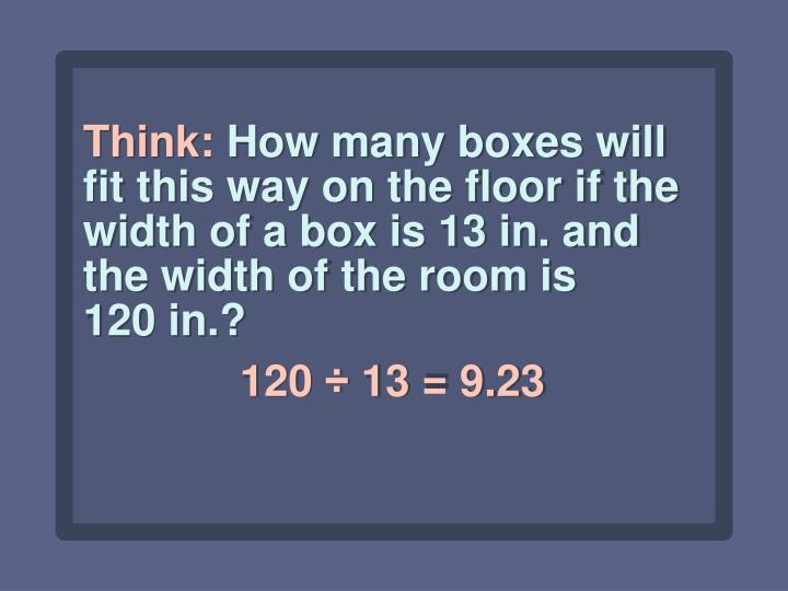 Think: