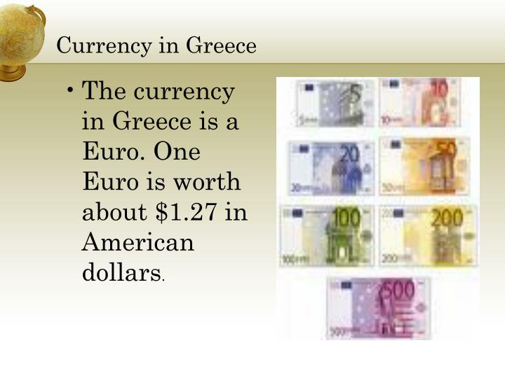 Currency in Greece