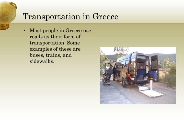 Transportation in Greece