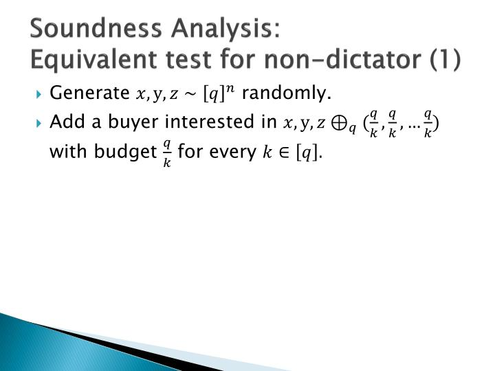 Soundness Analysis: