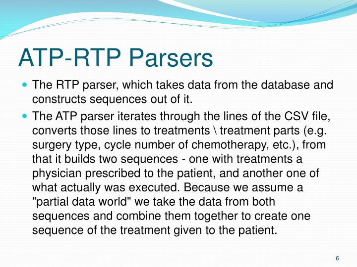 ATP-RTP Parsers