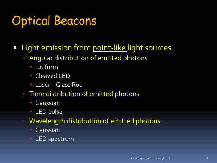 Optical Beacons