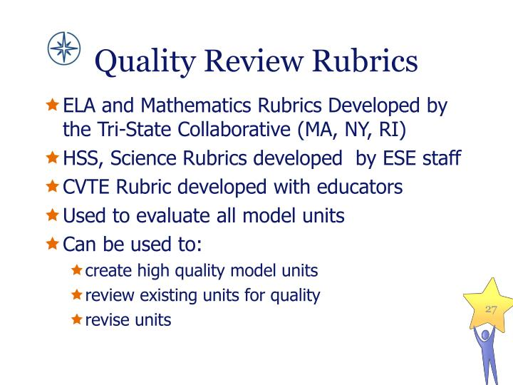 Quality Review Rubrics